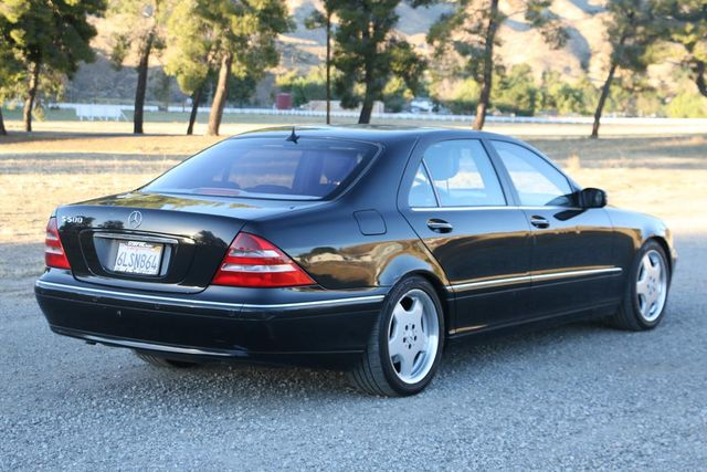 2001 Mercedes-Benz S500 LONG WHEELBASE Santa Clarita, CA 6