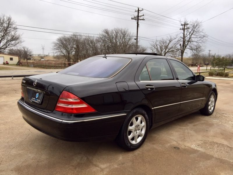 2001 Mercedes-Benz S500   city TX  Dallas Motorsports  in Wylie, TX
