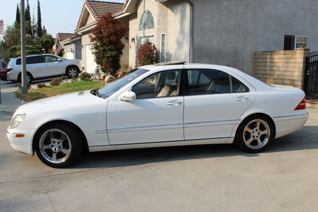 2001 Mercedes-Benz S500 XENON AUTO NEW TIRES in Woodland Hills CA, 91367