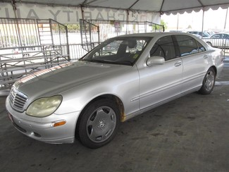 2001 Mercedes-Benz S600 Gardena, California