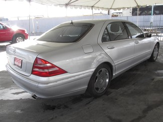 2001 Mercedes-Benz S600 Gardena, California 2