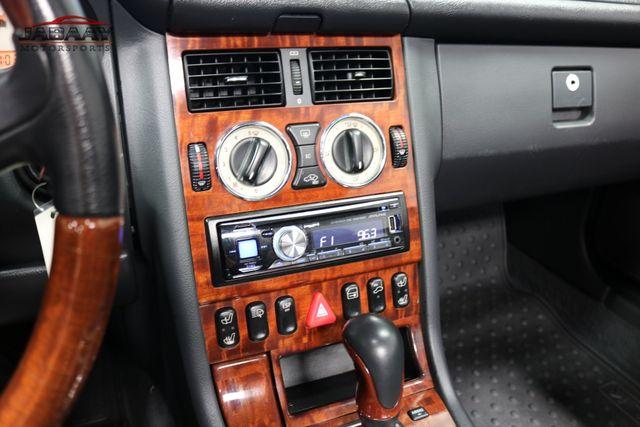2001 Mercedes-Benz SLK320 Merrillville, Indiana 17