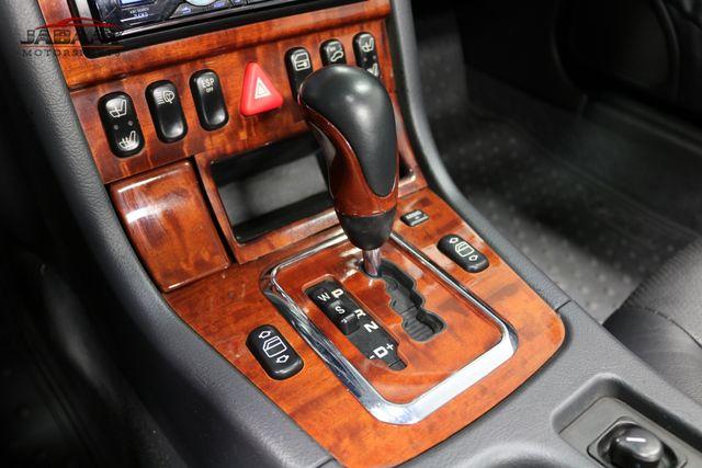 2001 Mercedes-Benz SLK320 Merrillville, Indiana 18