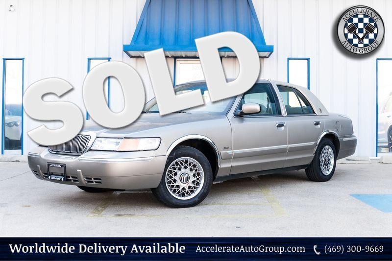 2001 Mercury Grand Marquis GS ONLY 60K MILES CLEAN CARFAX POWER ACCESSORIES! in Rowlett Texas