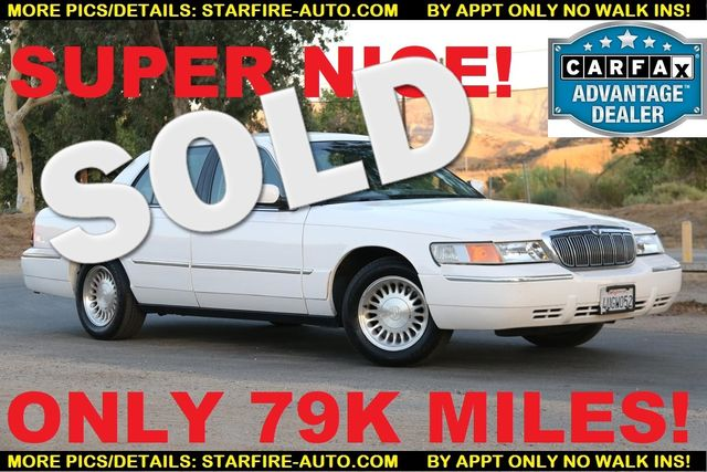2001 Mercury Grand Marquis LS ULTIMATE PACKAGE Santa Clarita, CA