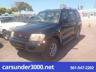 2001 Mitsubishi Montero XLS Lake Worth , Florida