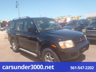 2001 Mitsubishi Montero XLS Lake Worth , Florida 2