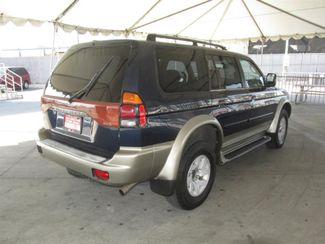2001 Mitsubishi Montero Sport XLS Gardena, California 2