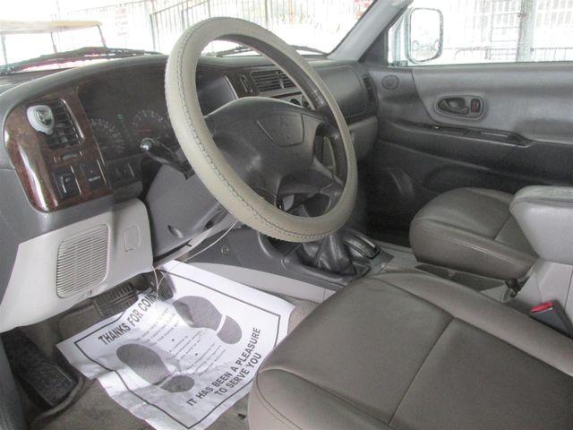 2001 Mitsubishi Montero Sport LTD Gardena, California 4