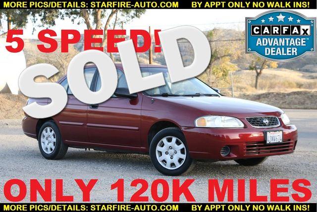2001 Nissan Sentra XE Santa Clarita, CA 0