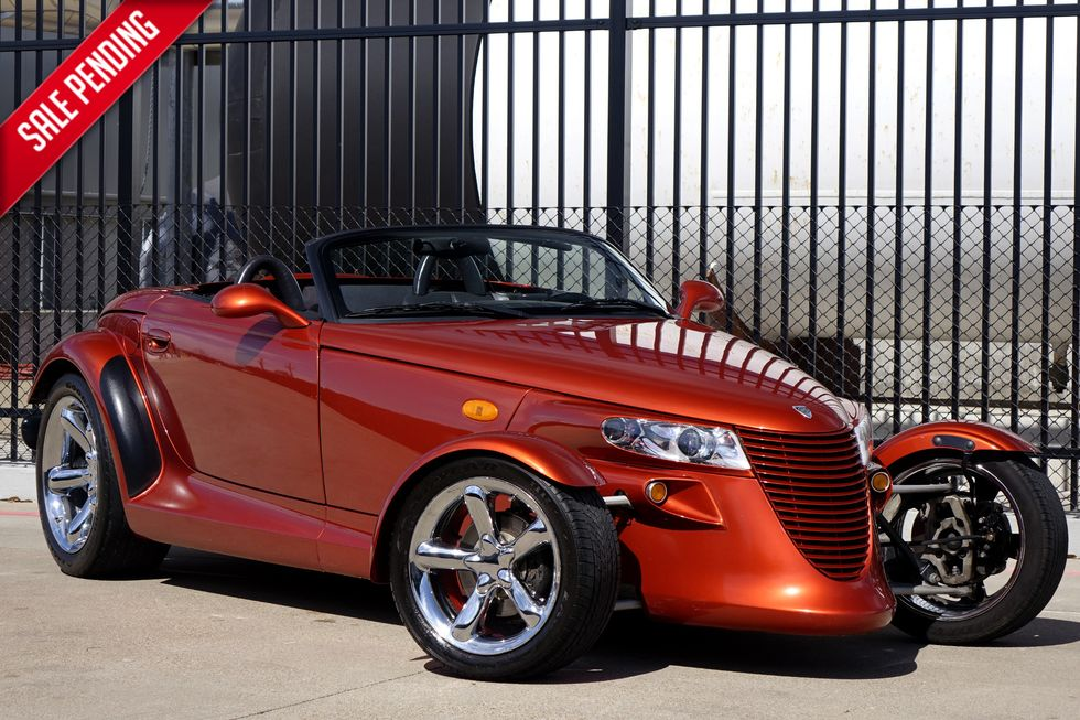 Cars For Sale By Owner In Dallas Tx >> 2001 Plymouth Prowler 2 Owner Dallas Car Only 27k Miles