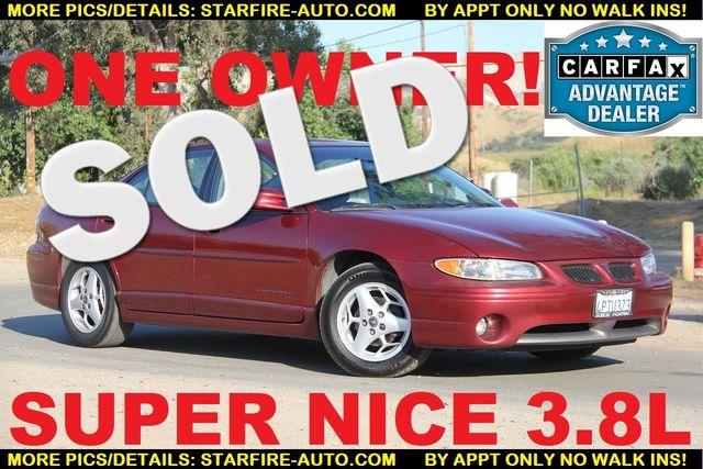 2001 Pontiac Grand Prix GT Santa Clarita, CA