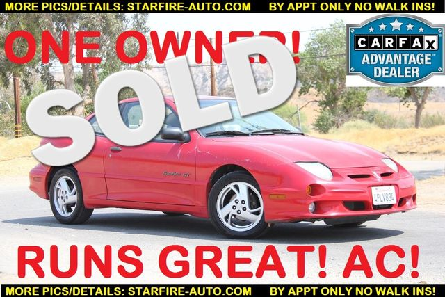2001 Pontiac Sunfire GT Santa Clarita, CA 0
