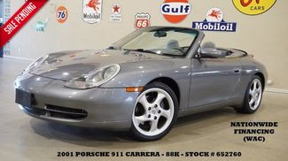 2001 Porsche 911 Carrera Convertible 6 SPD,PWR SOFT TOP,LTH,18IN WHLS,88K! in Carrollton TX, 75006
