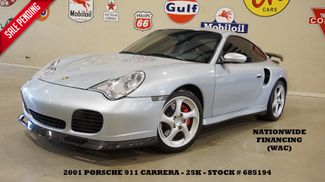 2001 Porsche 911 Carrera Turbo Coupe AWD 6 SPD,SUNROOF,HTD LTH,EXHAUST,25K in Carrollton TX, 75006