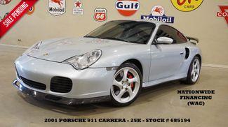 2001 Porsche 911 Carrera Turbo Coupe AWD 6 SPD,SUNROOF,HTD LTH,EXHAUST,25K in Carrollton TX, 75006