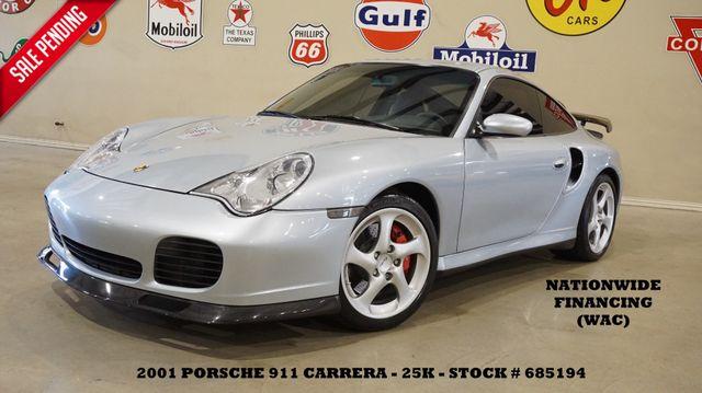 2001 Porsche 911 Carrera Turbo Coupe AWD 6 SPD,SUNROOF,HTD LTH,EXHAUST,25K