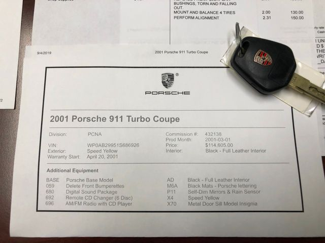2001 Porsche 911 Carrera TURBO Longwood, FL 46