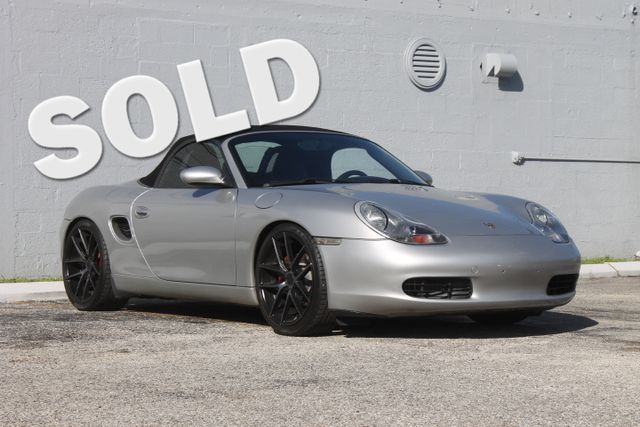 2001 Porsche Boxster Hollywood, Florida
