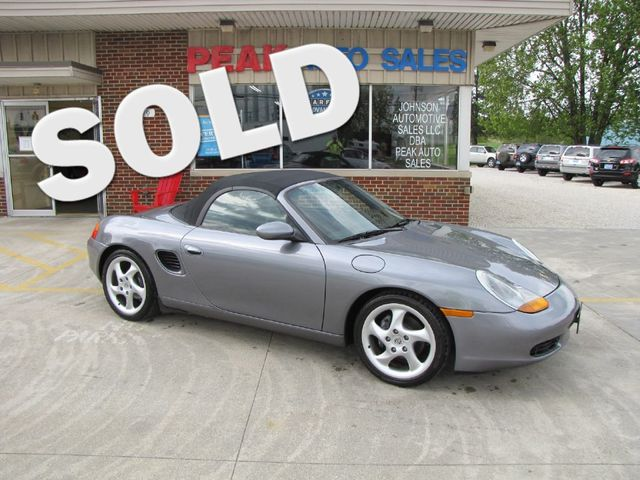 2001 Porsche Boxster in Medina, OHIO 44256