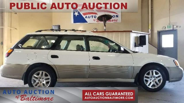 2001 Subaru OUTBACK AWP  | JOPPA, MD | Auto Auction of Baltimore  in Joppa MD