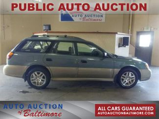 2001 Subaru Outback w/RB Equip | JOPPA, MD | Auto Auction of Baltimore  in Joppa MD