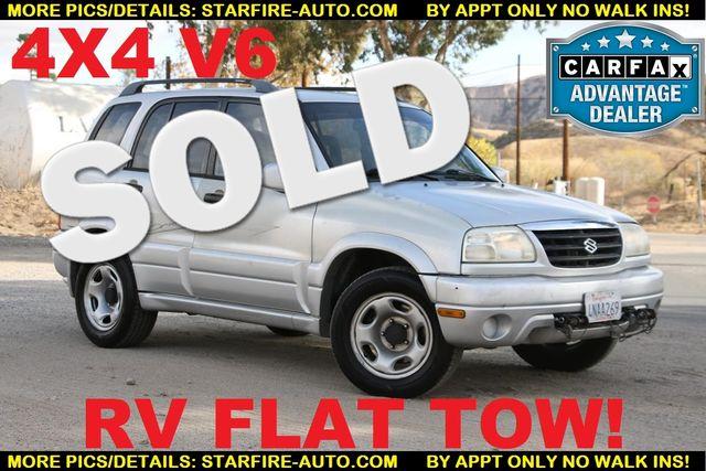 2001 Suzuki Grand Vitara JLX FLAT TOW 4X4 V6 Santa Clarita, CA 0