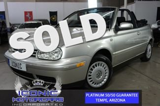 2001 Volkswagen Cabrio GL | Tempe, AZ | ICONIC MOTORCARS, Inc. in Tempe AZ