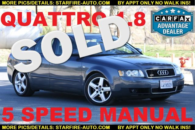 2002 Audi A4 1.8T QUATTRO 5 SPEED Santa Clarita, CA 0