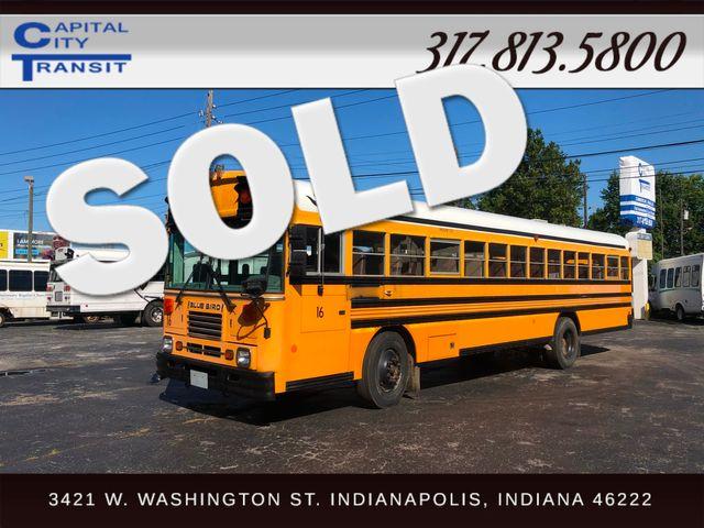 2002 Bluebird TC2000 78 Passenger School Bus Indianapolis, IN