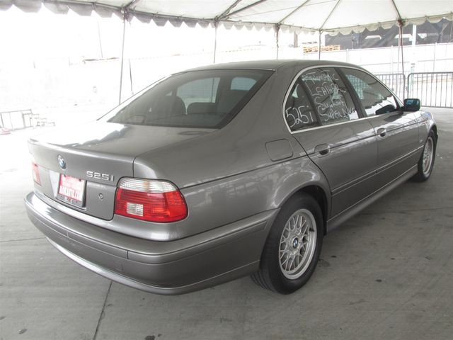 2002 BMW 525i 525iA Gardena, California 2