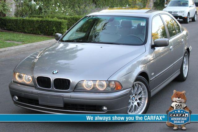 2002 BMW 530i SPORTS PKG 78K MLS 1-OWNER SERVICE RECORDS