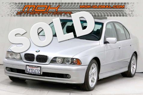 2002 BMW 540i - Sport pkg - Nav - M Parallel wheels in Los Angeles