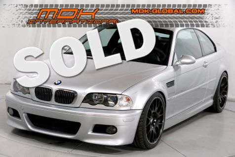 2002 BMW M Models M3 - MANUAL - BBS - NEW INTERIOR in Los Angeles