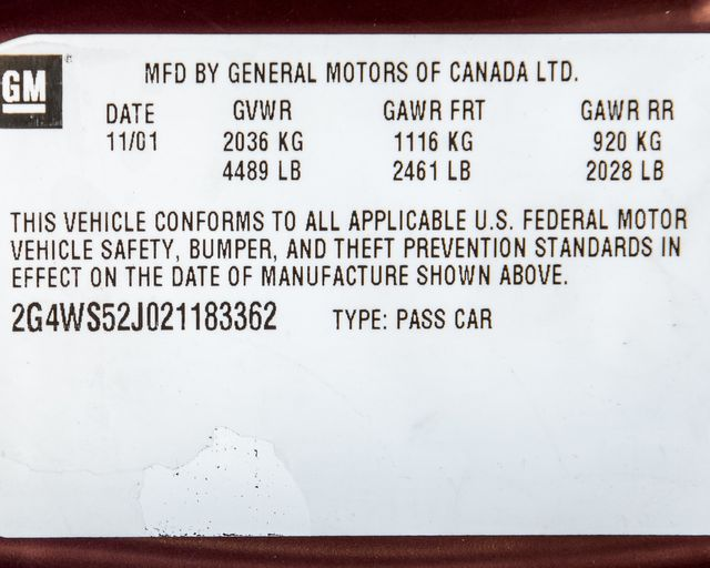 2002 Buick Century Custom Burbank, CA 27