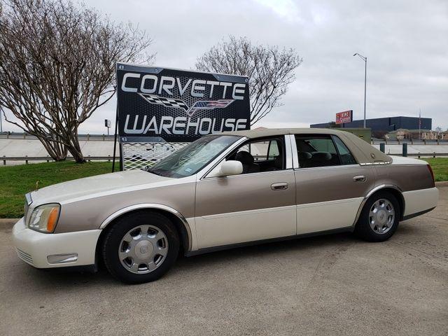 2002 Cadillac DeVille Sedan Auto, CD Player, Alloy Wheels 102k! | Dallas, Texas | Corvette Warehouse  in Dallas Texas