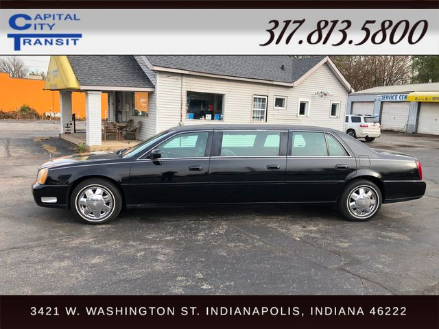 2002 Cadillac Deville Professional Limousine Indianapolis, IN