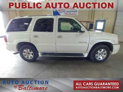 2002 Cadillac Escalade  | JOPPA, MD | Auto Auction of Baltimore  in JOPPA, MD