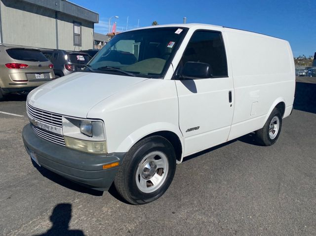 2002 Chevrolet Astro Cargo Van W/ Rear Divider & Rear Shelving - 1 OWNER, CLEAN TITLE, NO ACCIDENTS, 81,081 MILES in San Diego, CA 92110