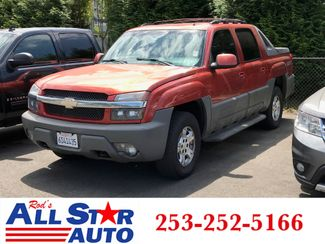 2002 Chevrolet Avalanche 1500 Z71 4WD in Puyallup Washington, 98371