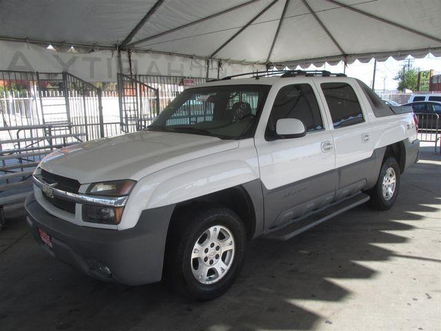 2002 Chevrolet Avalanche Gardena, California