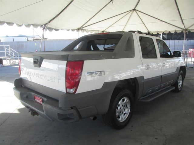2002 Chevrolet Avalanche Gardena, California 2