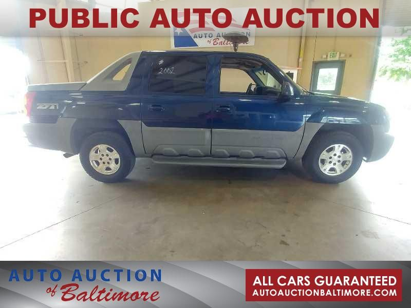 2002 Chevrolet Avalanche  | JOPPA, MD | Auto Auction of Baltimore  in JOPPA MD