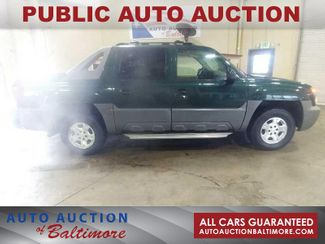 2002 Chevrolet Avalanche    JOPPA, MD   Auto Auction of Baltimore  in Joppa MD