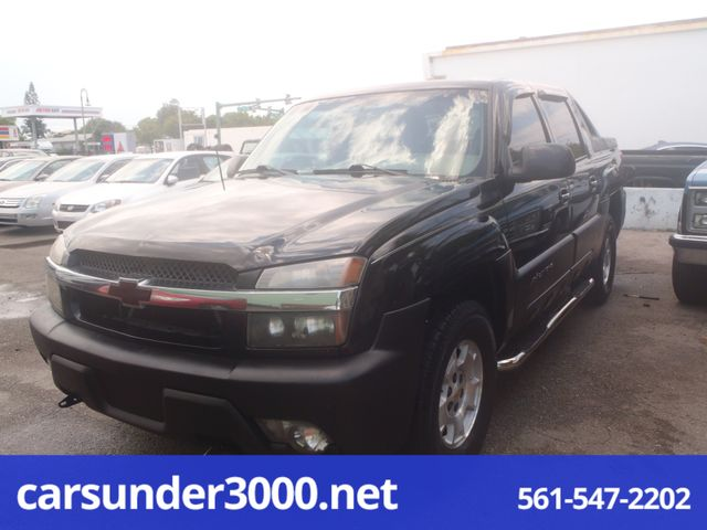 2002 Chevrolet Avalanche Lake Worth , Florida
