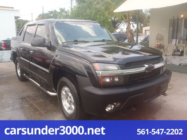 2002 Chevrolet Avalanche Lake Worth , Florida 1