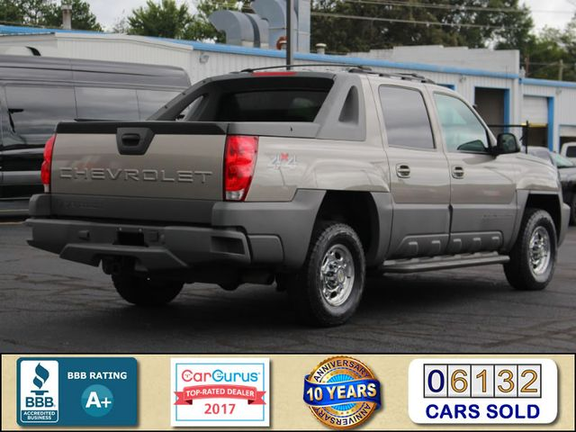 2002 Chevrolet Avalanche 2500 4X4 - 8.1L BIG BLOCK V8 - ONLY 93K MILES! Mooresville , NC 2
