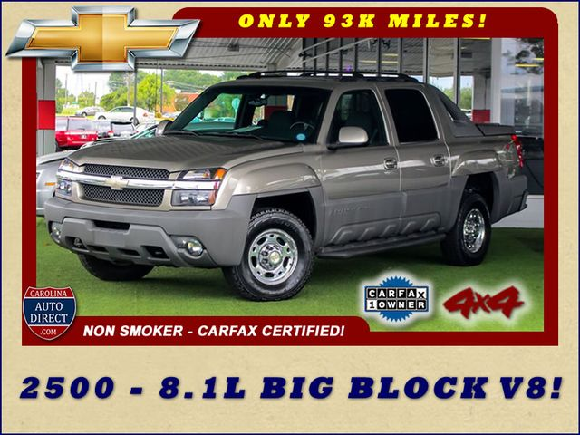 2002 Chevrolet Avalanche 2500 4X4 - 8.1L BIG BLOCK V8 - ONLY 93K MILES! Mooresville , NC 0