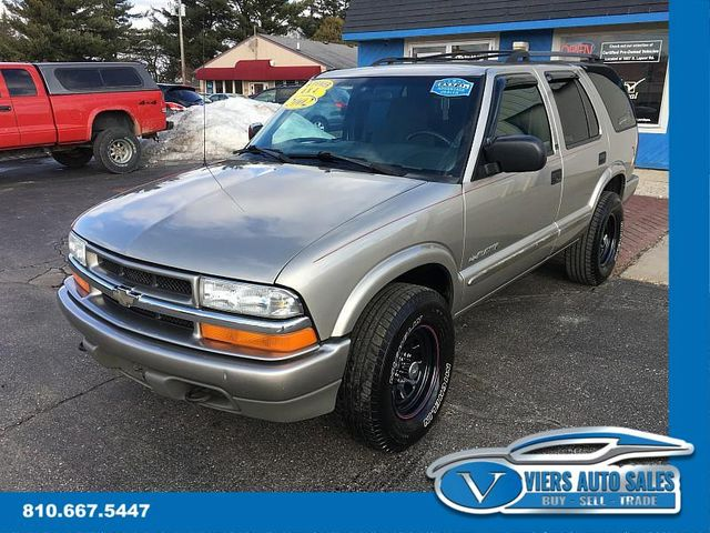 2002 Chevrolet Blazer LS 4WD