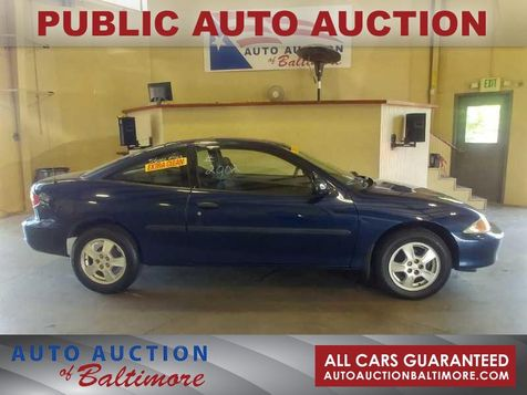 2002 Chevrolet Cavalier LS   JOPPA, MD   Auto Auction of Baltimore  in JOPPA, MD
